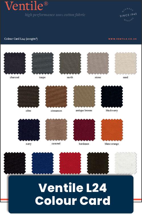 Ventile New - L24 Colour Card